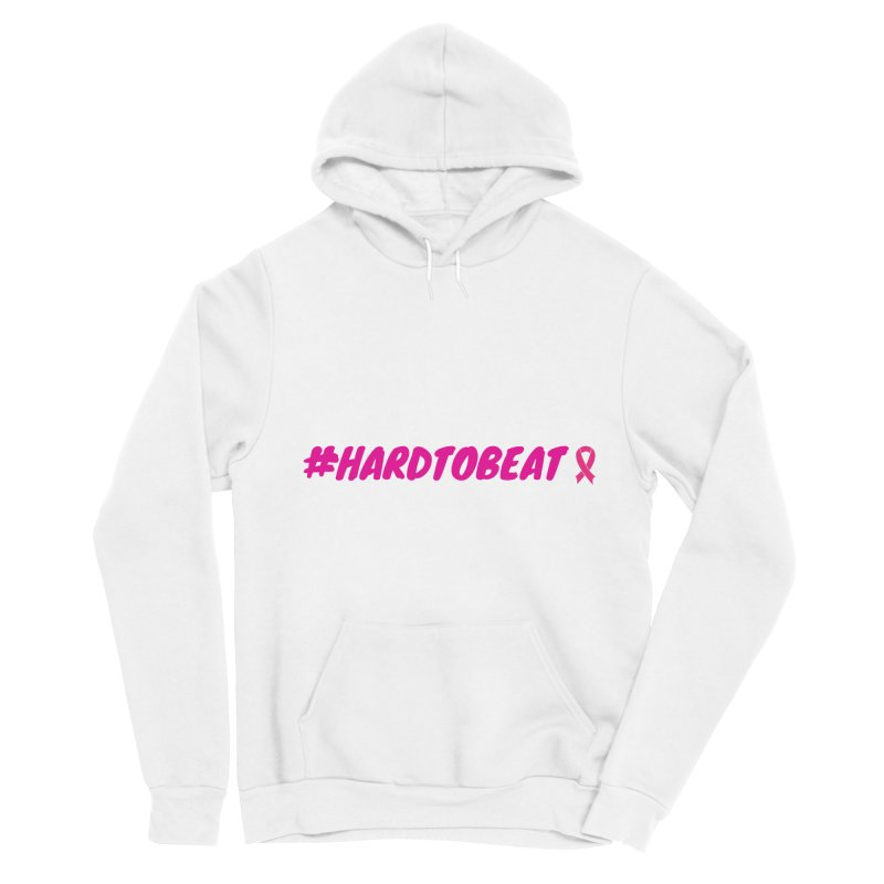 #HARDTOBEAT - BREAST CANCER AWARENESS Men's Sponge Fleece Pullover Hoody by Hard To Beat