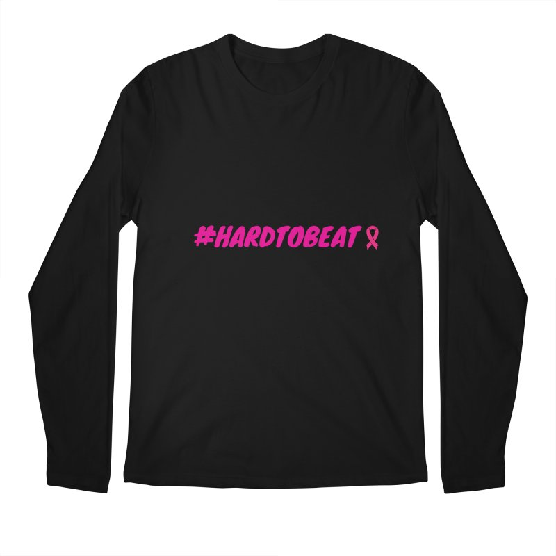 #HARDTOBEAT - BREAST CANCER AWARENESS Men's Longsleeve T-Shirt by Hard To Beat