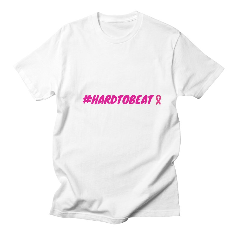 #HARDTOBEAT - BREAST CANCER AWARENESS Men's Regular T-Shirt by Hard To Beat