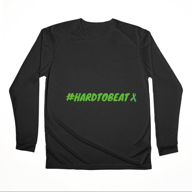 #HARDTOBEAT - MENTAL HEALTH AWARENESS Men's Performance Longsleeve T-Shirt by Hard To Beat