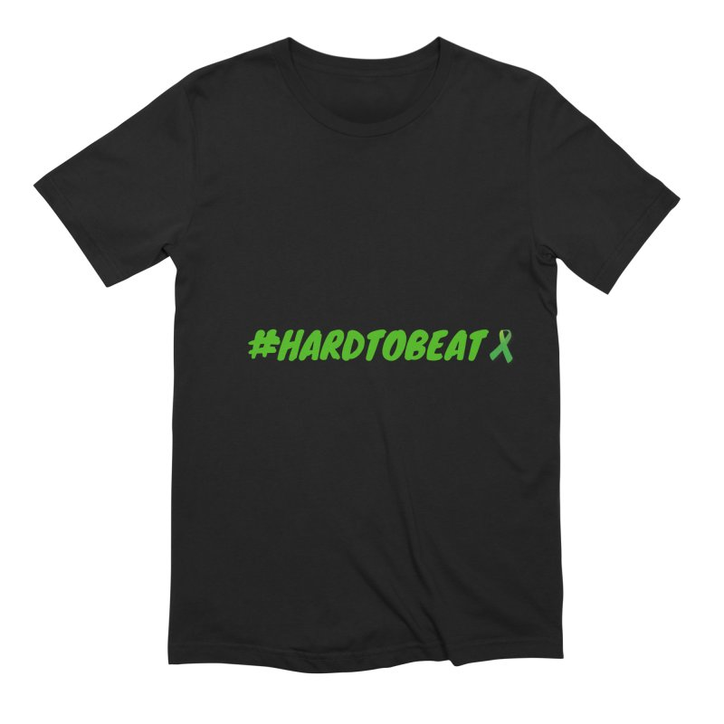 #HARDTOBEAT - MENTAL HEALTH AWARENESS Men's Extra Soft T-Shirt by Hard To Beat