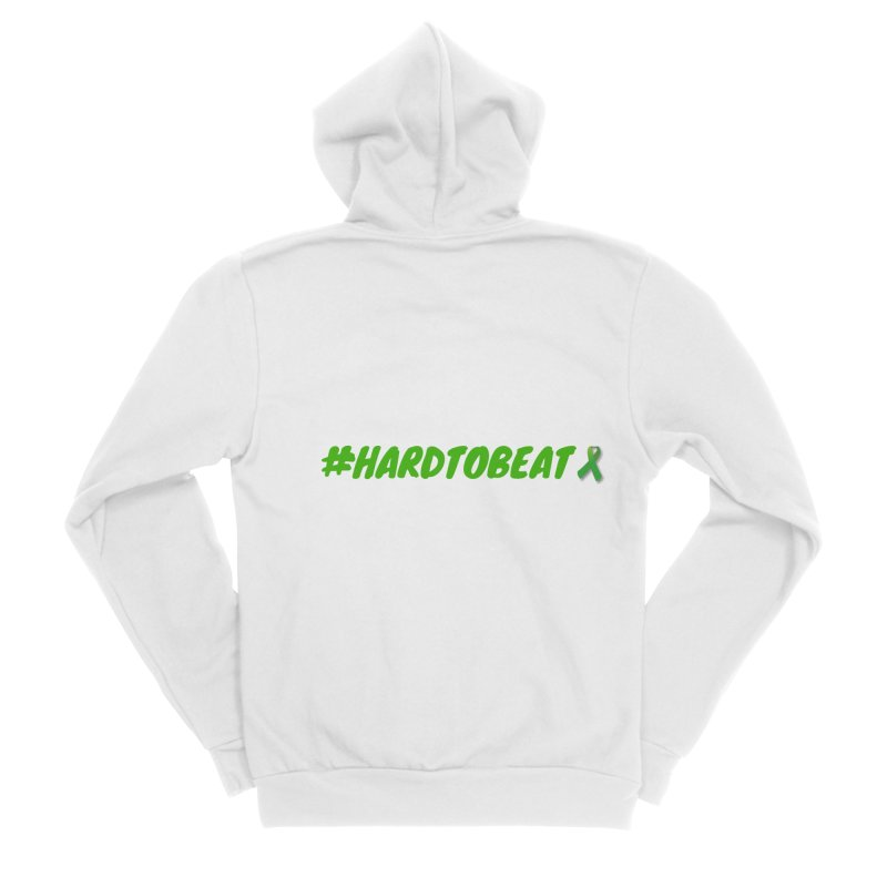 #HARDTOBEAT - MENTAL HEALTH AWARENESS Men's Zip-Up Hoody by Hard To Beat