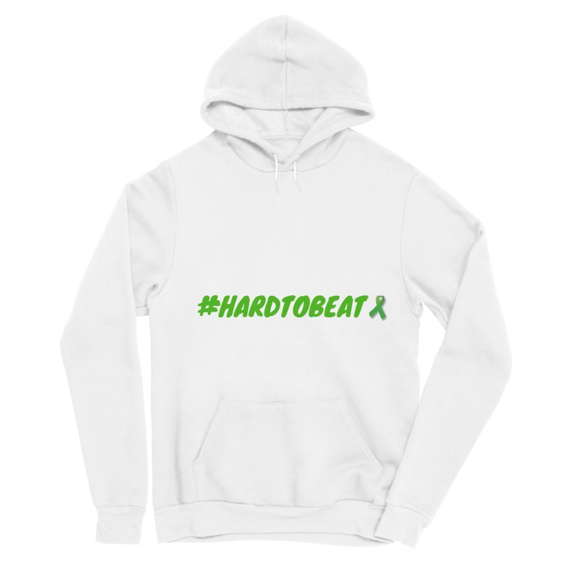 #HARDTOBEAT - MENTAL HEALTH AWARENESS Men's Sponge Fleece Pullover Hoody by Hard To Beat