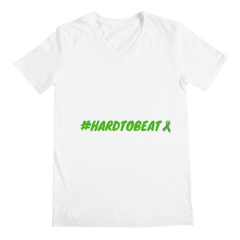 #HARDTOBEAT - MENTAL HEALTH AWARENESS Men's V-Neck by Hard To Beat