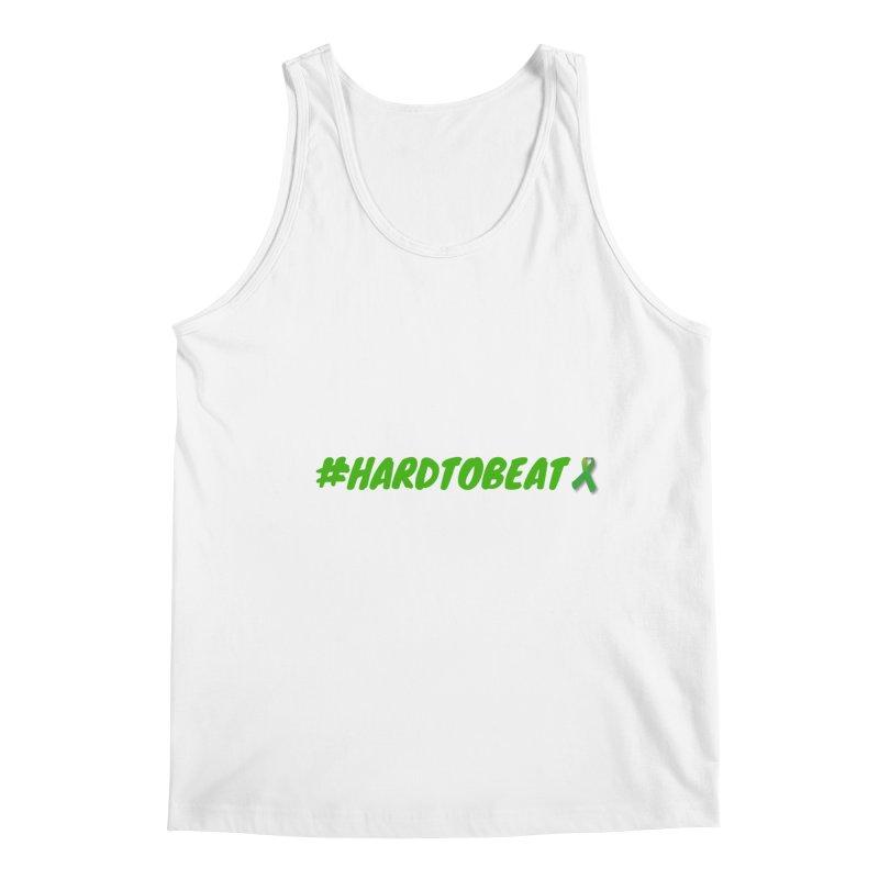 #HARDTOBEAT - MENTAL HEALTH AWARENESS Men's Regular Tank by Hard To Beat