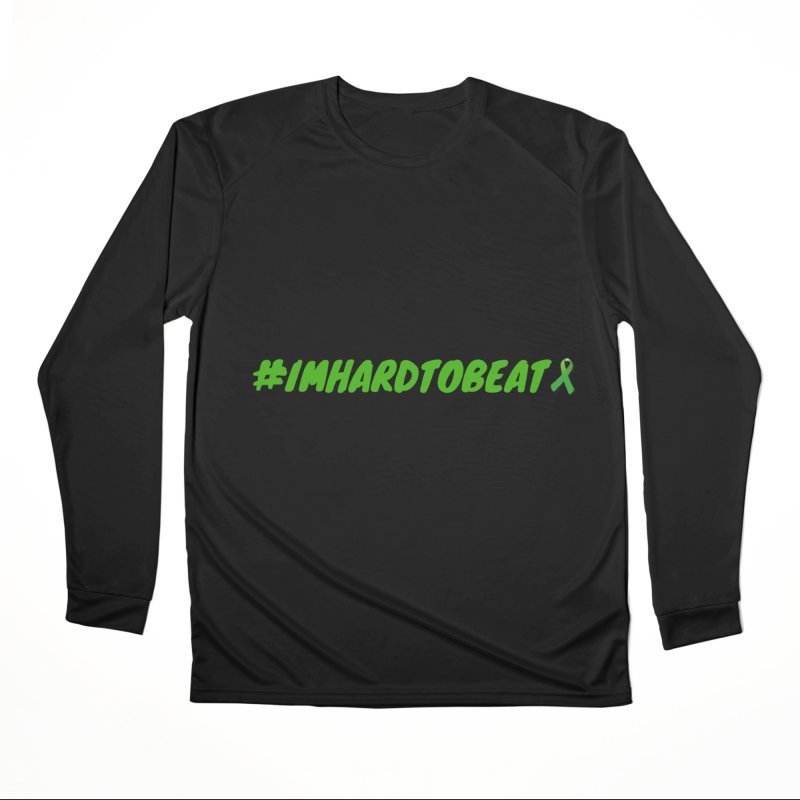 #IMHARDTOBEAT - MENTAL HEALTH AWARENESS Men's Performance Longsleeve T-Shirt by Hard To Beat