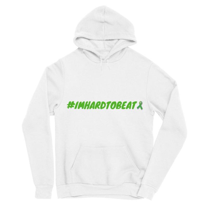#IMHARDTOBEAT - MENTAL HEALTH AWARENESS Women's Sponge Fleece Pullover Hoody by Hard To Beat