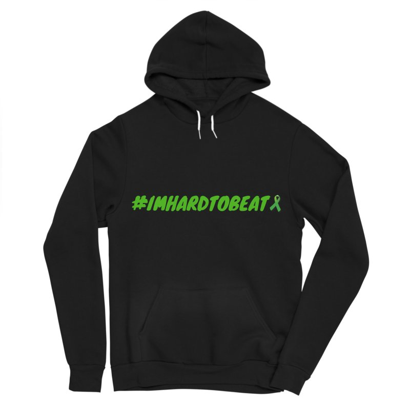 #IMHARDTOBEAT - MENTAL HEALTH AWARENESS Men's Sponge Fleece Pullover Hoody by Hard To Beat