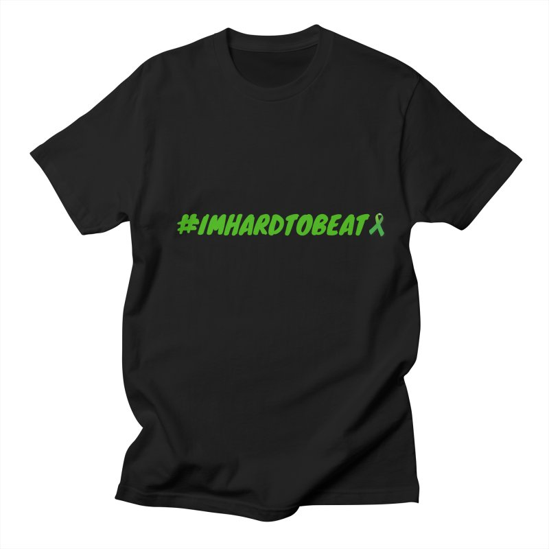 #IMHARDTOBEAT - MENTAL HEALTH AWARENESS Men's Regular T-Shirt by Hard To Beat