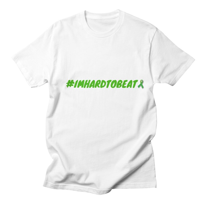 #IMHARDTOBEAT - MENTAL HEALTH AWARENESS Men's T-Shirt by Hard To Beat