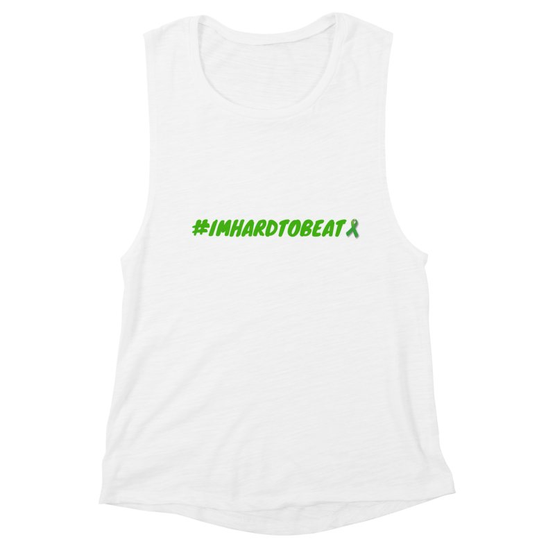 #IMHARDTOBEAT - MENTAL HEALTH AWARENESS Women's Muscle Tank by Hard To Beat