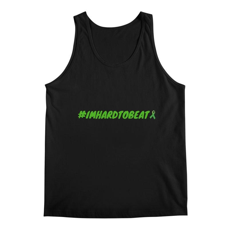 #IMHARDTOBEAT - MENTAL HEALTH AWARENESS Men's Regular Tank by Hard To Beat