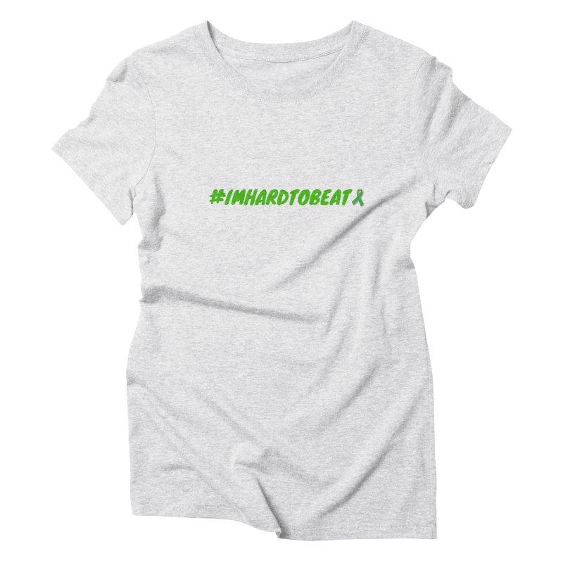 #IMHARDTOBEAT - MENTAL HEALTH AWARENESS Women's T-Shirt by Hard To Beat