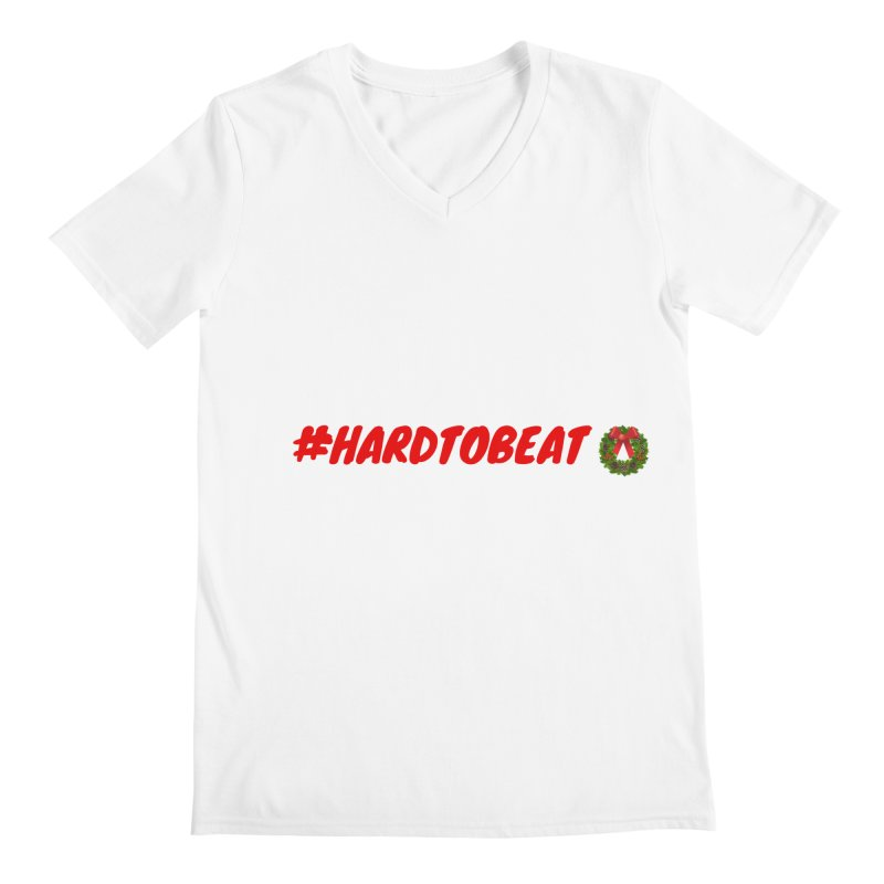 #HARDTOBEAT - CHRISTMAS Men's V-Neck by Hard To Beat