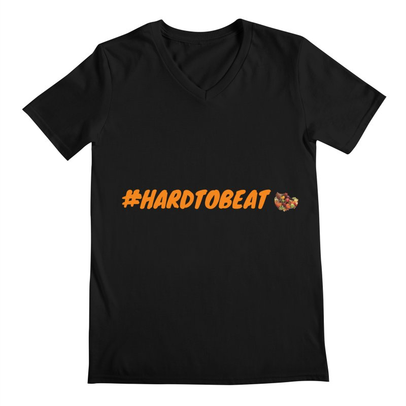 #HARDTOBEAT - THANKSGIVING Men's V-Neck by Hard To Beat