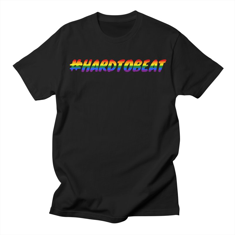 #HARDTOBEAT - LGBT Pride Month Men's Regular T-Shirt by Hard To Beat