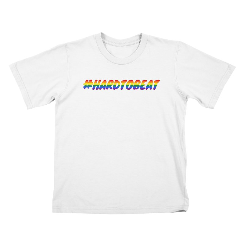 #HARDTOBEAT - LGBT Pride Month Kids T-Shirt by Hard To Beat