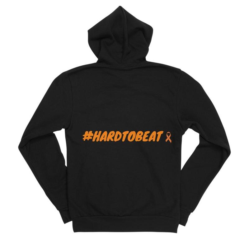 #HARDTOBEAT - NATIONAL KIDNEY MONTH Women's Sponge Fleece Zip-Up Hoody by Hard To Beat
