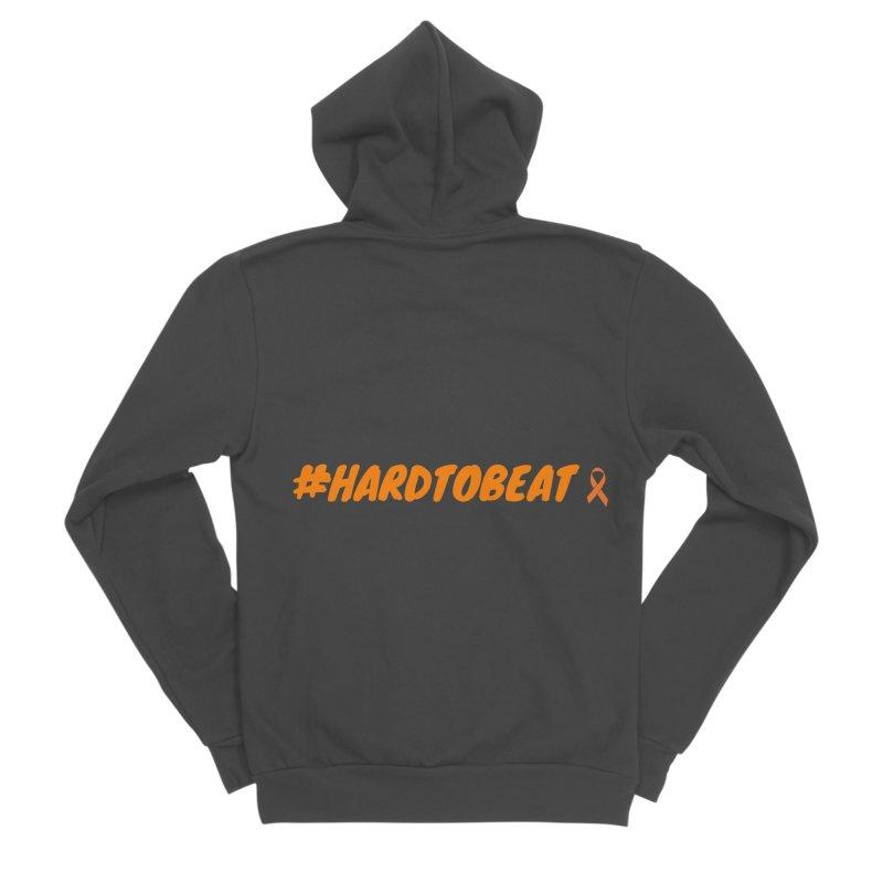 #HARDTOBEAT - NATIONAL KIDNEY MONTH Men's Sponge Fleece Zip-Up Hoody by Hard To Beat
