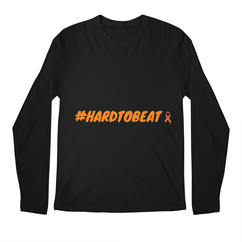 #HARDTOBEAT - NATIONAL KIDNEY MONTH Men's Longsleeve T-Shirt by Hard To Beat