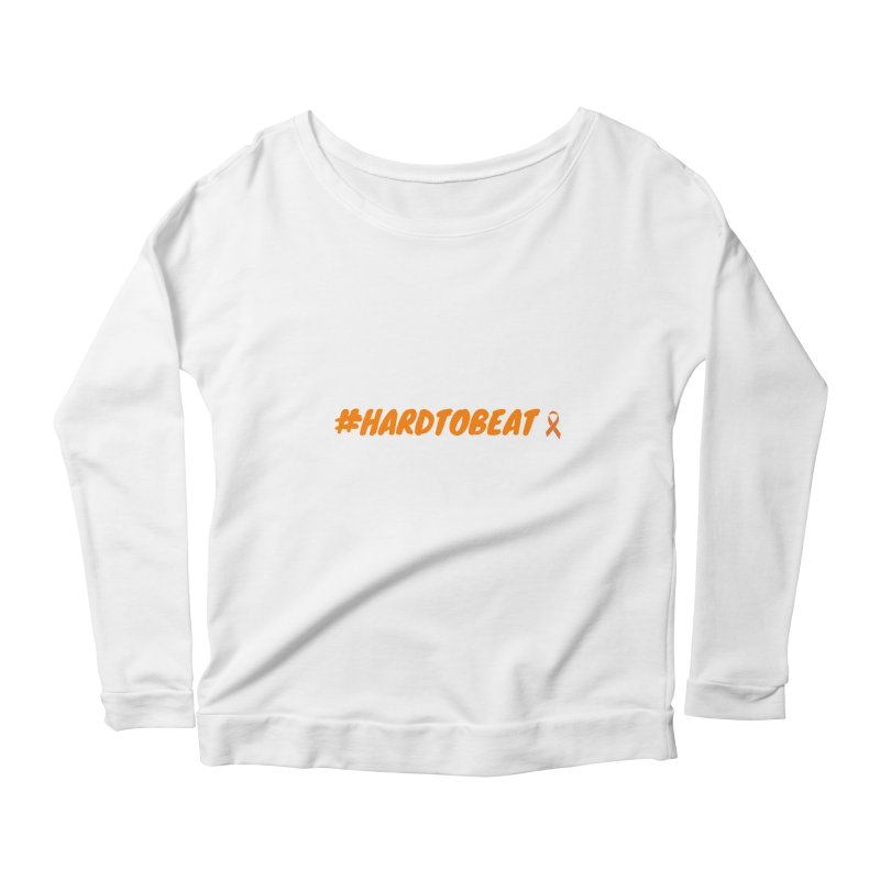 #HARDTOBEAT - NATIONAL KIDNEY MONTH Women's Longsleeve T-Shirt by Hard To Beat