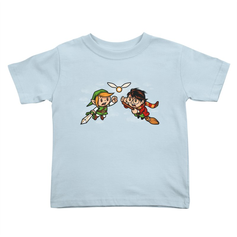 A Link to the Snitch Kids Toddler T-Shirt by harebrained's Artist Shop