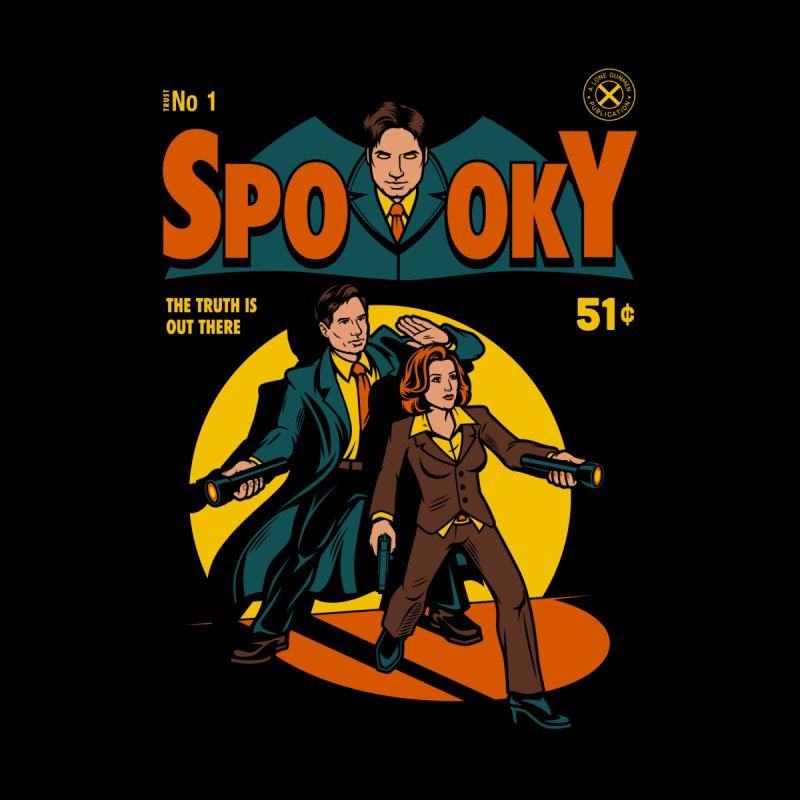 Spooky Comic Men's T-shirt by harebrained's Artist Shop