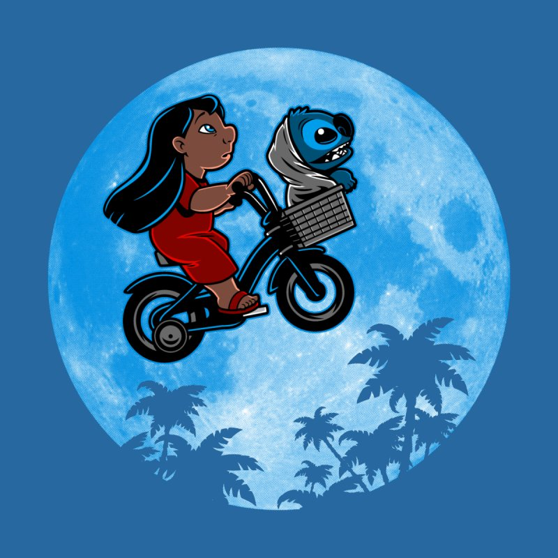 Stitch Phone Home Home Shower Curtain by harebrained's Artist Shop