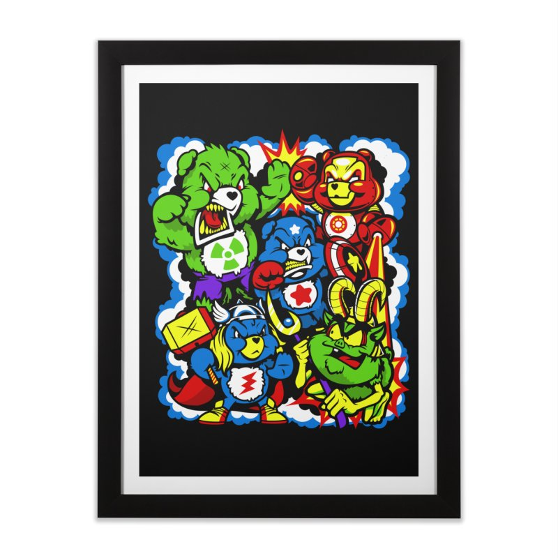 The Care Initiative Home Framed Fine Art Print by harebrained's Artist Shop