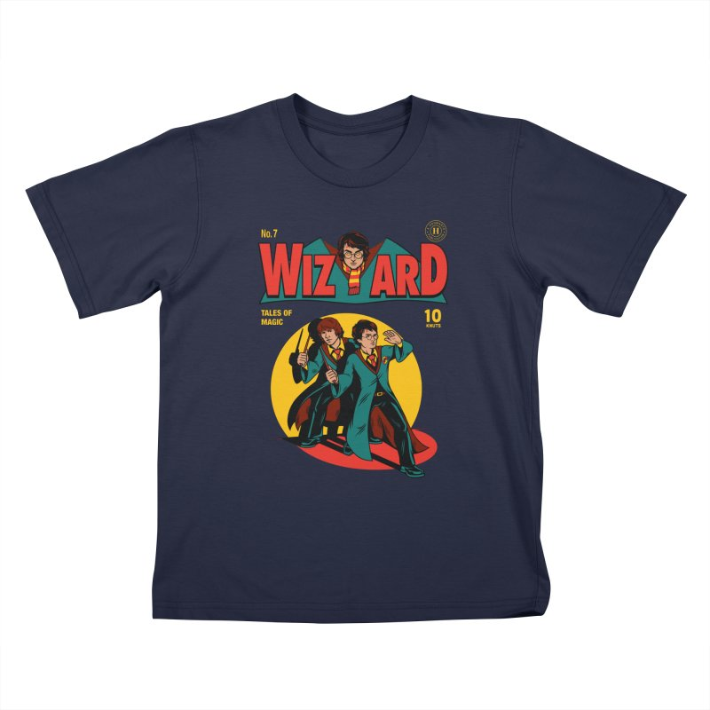 Wizard Comic Kids Toddler T-Shirt by harebrained's Artist Shop