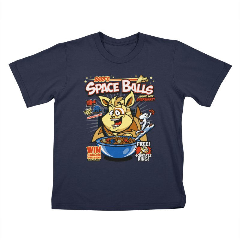 Barf's Space Balls Kids Toddler T-Shirt by harebrained's Artist Shop