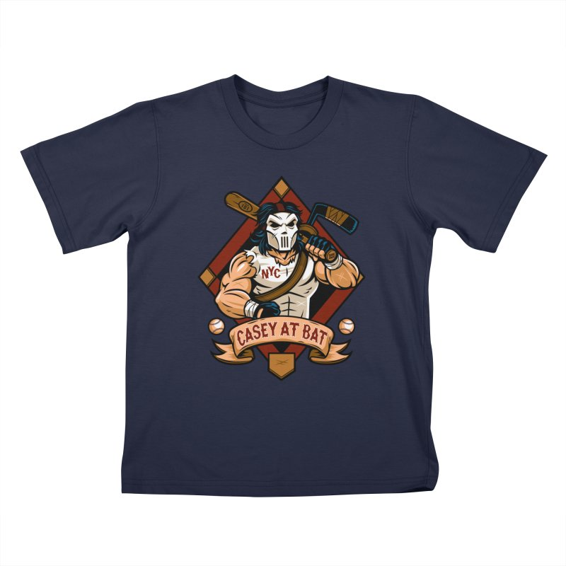 Casey At Bat Kids Toddler T-Shirt by harebrained's Artist Shop