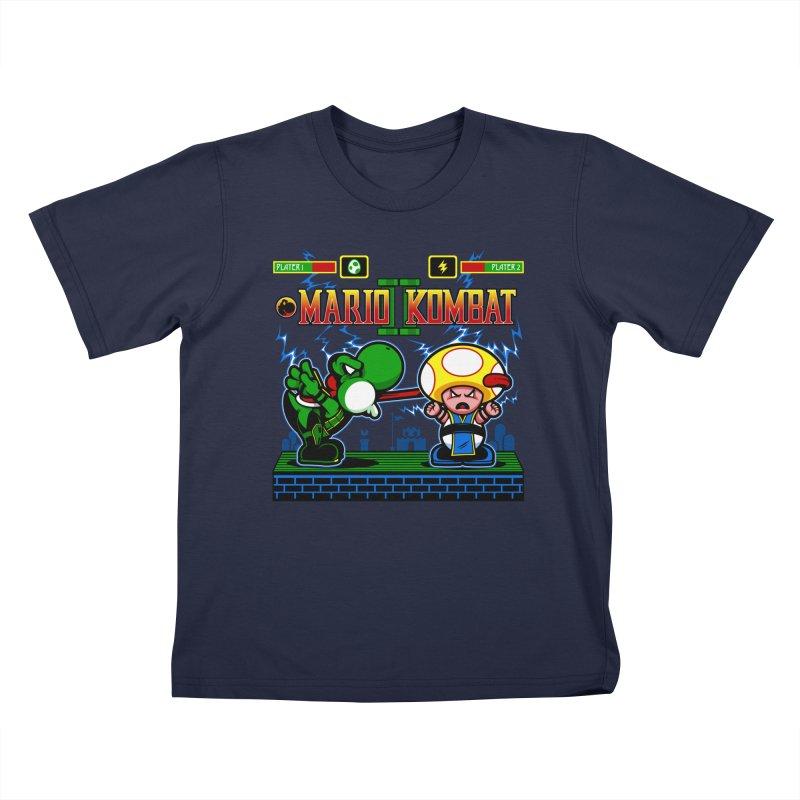 Mario Kombat II Kids Toddler T-Shirt by harebrained's Artist Shop