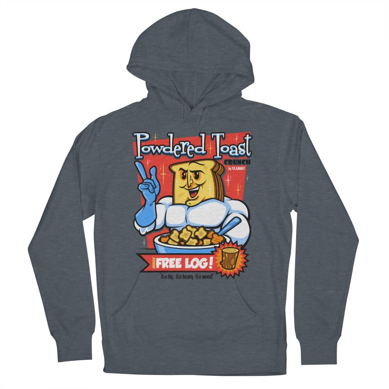 Powdered Toast Crunch Men's Pullover Hoody by harebrained's Artist Shop
