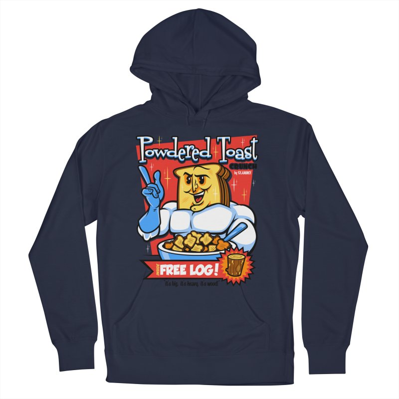 Powdered Toast Crunch Men's French Terry Pullover Hoody by harebrained's Artist Shop
