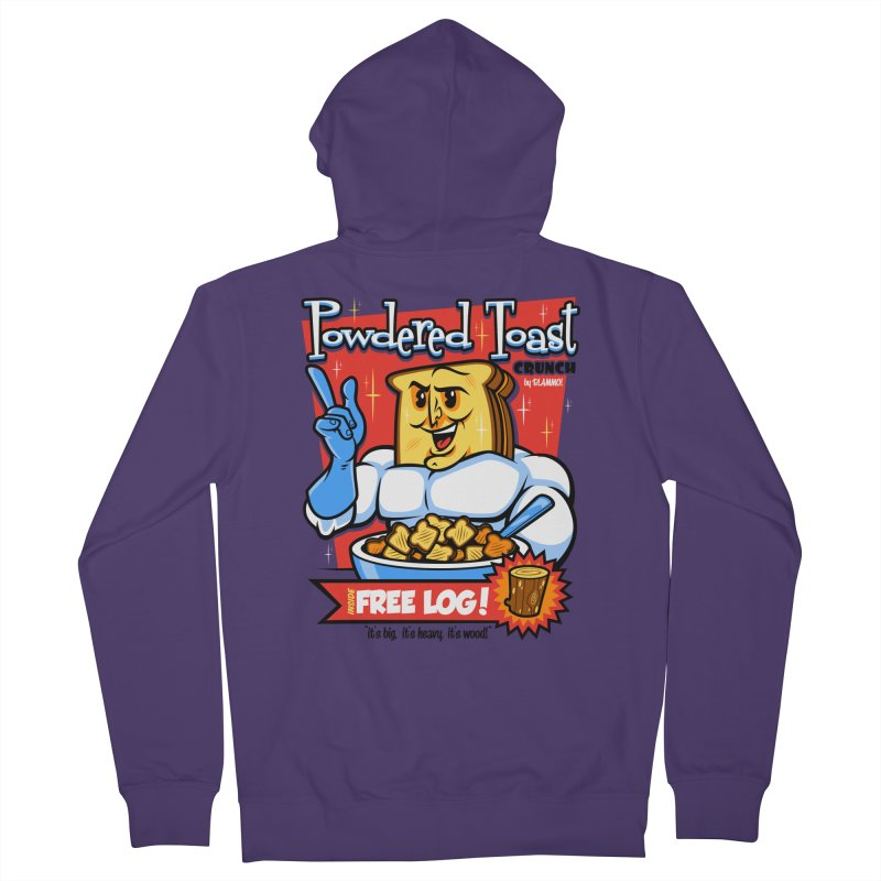 Powdered Toast Crunch Women's French Terry Zip-Up Hoody by harebrained's Artist Shop