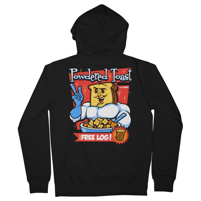 Powdered Toast Crunch Women's Zip-Up Hoody by harebrained's Artist Shop