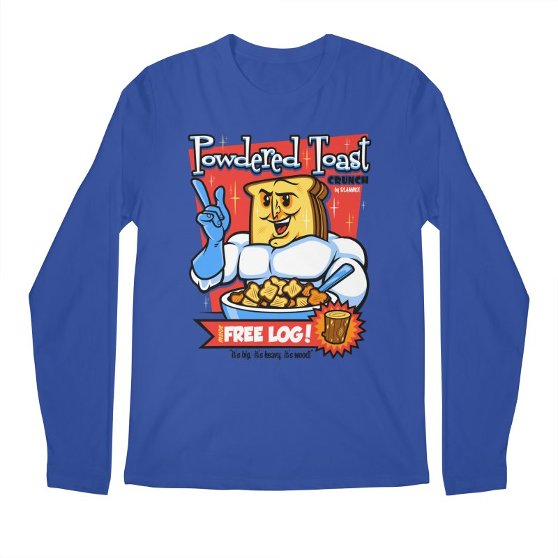 Powdered Toast Crunch Men's Longsleeve T-Shirt by harebrained's Artist Shop