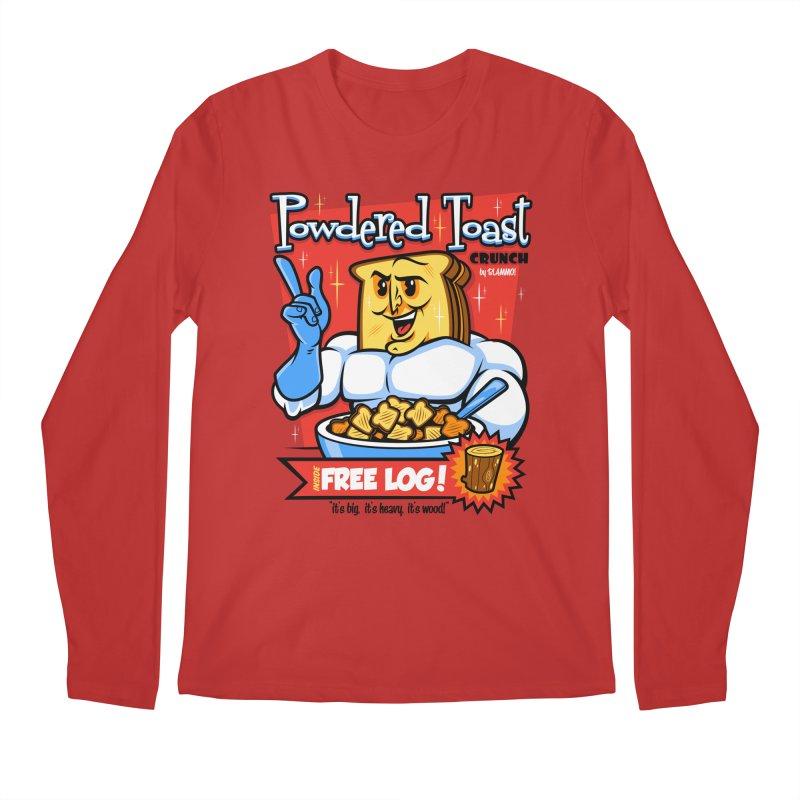 Powdered Toast Crunch Men's Longsleeve T-Shirt by harebrained's Artist Shop