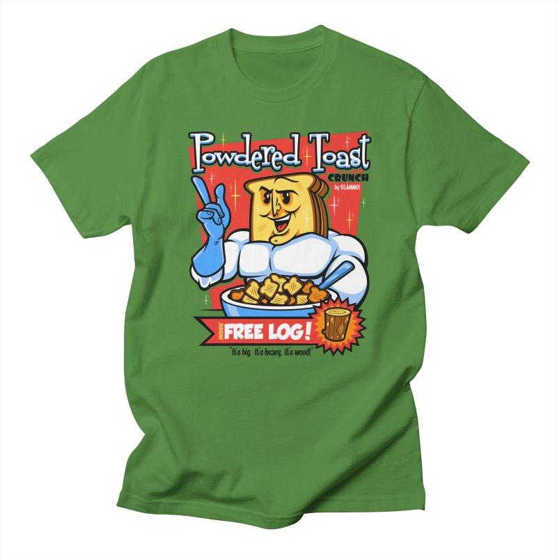 Powdered Toast Crunch Women's Regular Unisex T-Shirt by harebrained's Artist Shop