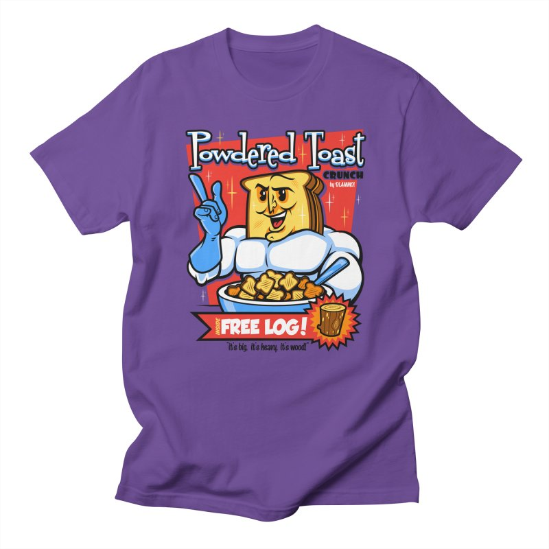 Powdered Toast Crunch Women's Unisex T-Shirt by harebrained's Artist Shop