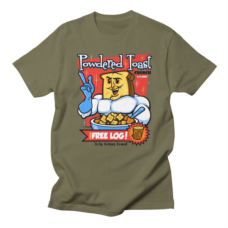 Powdered Toast Crunch Men's T-shirt by harebrained's Artist Shop