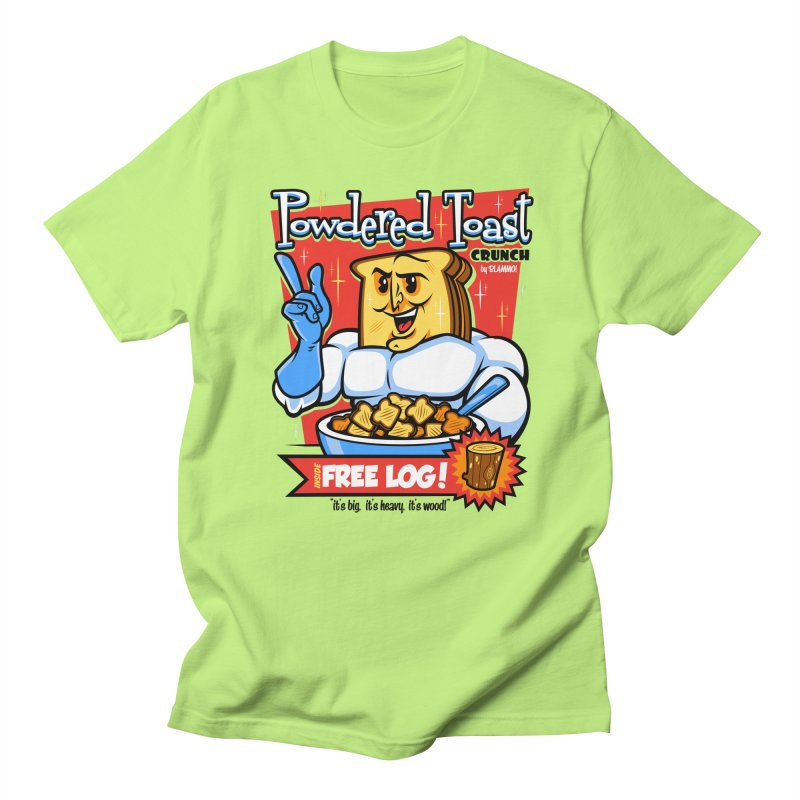 Powdered Toast Crunch Women's Unisex T-Shirt by harebrained's Artist Shop