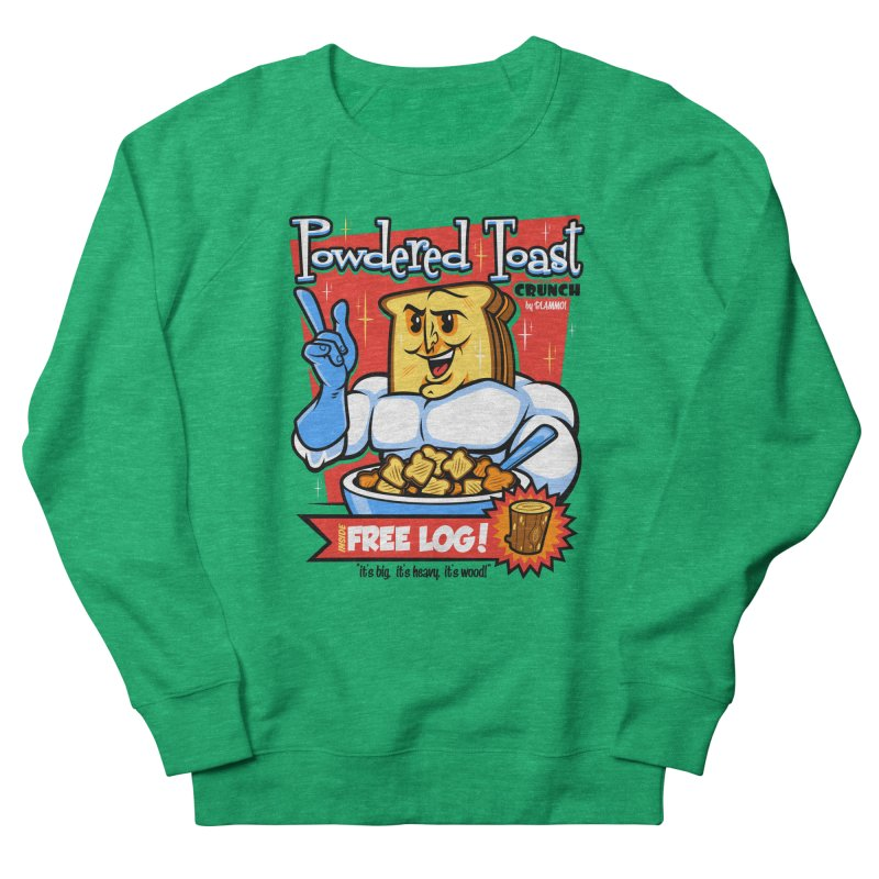 Powdered Toast Crunch Men's Sweatshirt by harebrained's Artist Shop
