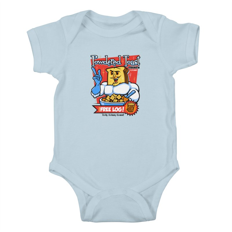 Powdered Toast Crunch Kids Baby Bodysuit by harebrained's Artist Shop