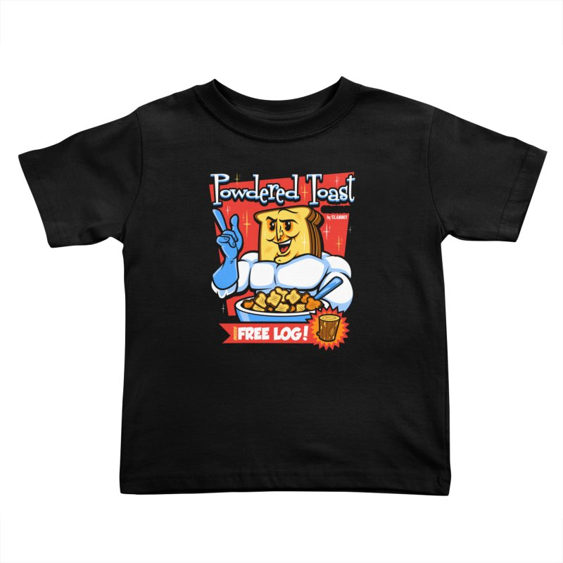 Powdered Toast Crunch Kids Toddler T-Shirt by harebrained's Artist Shop