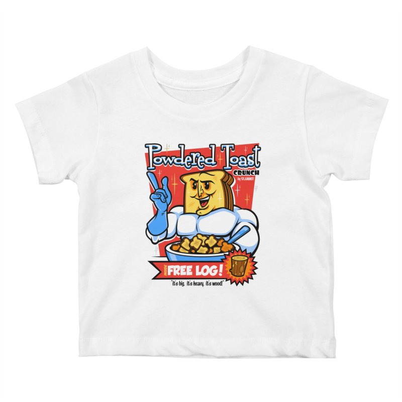 Powdered Toast Crunch Kids Baby T-Shirt by harebrained's Artist Shop