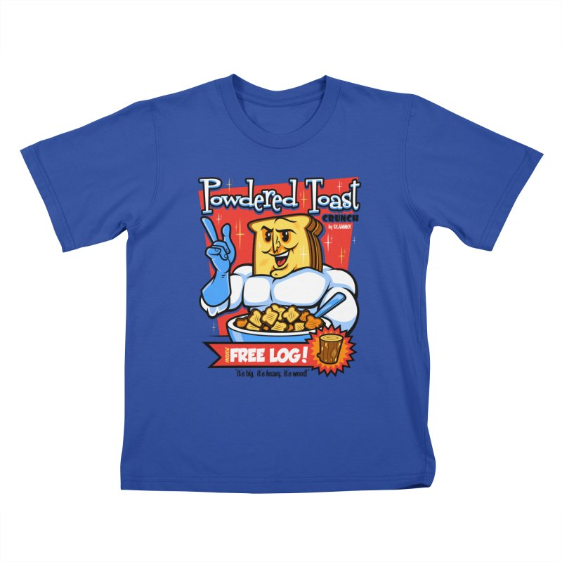Powdered Toast Crunch Kids T-Shirt by harebrained's Artist Shop