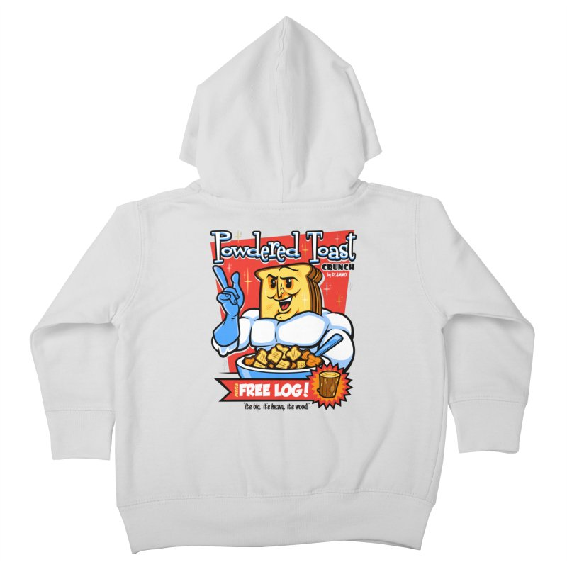 Powdered Toast Crunch Kids Toddler Zip-Up Hoody by harebrained's Artist Shop