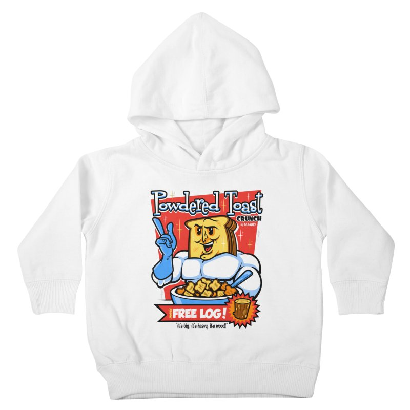 Powdered Toast Crunch Kids Toddler Pullover Hoody by harebrained's Artist Shop
